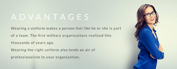 Advantages of having a uniform
