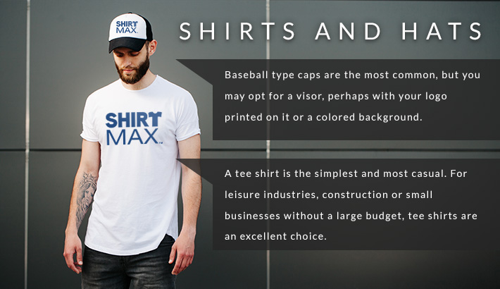 Shirts and Hats Infographic