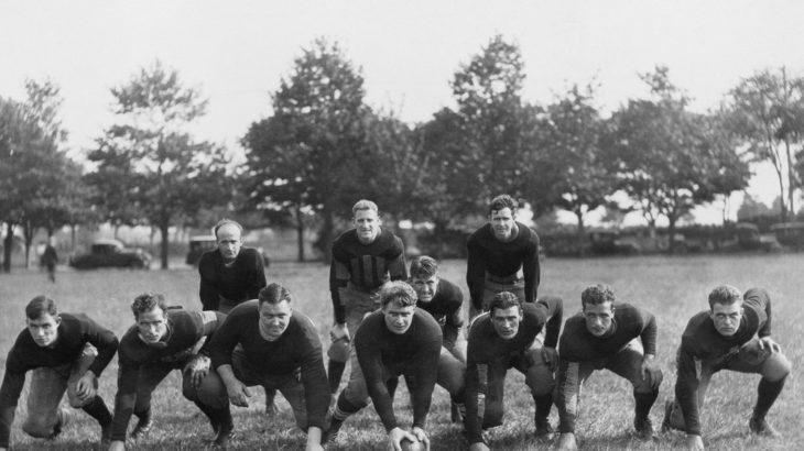 early sweatshirts in football