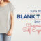 blank t shirts canvas self expression