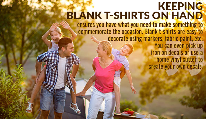 blank t shirts on hand graphic