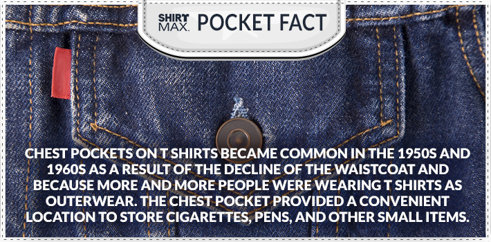 Chest pocket fact quote