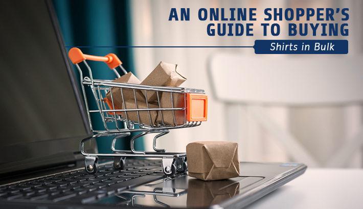 online shoppers guide shirts bulk