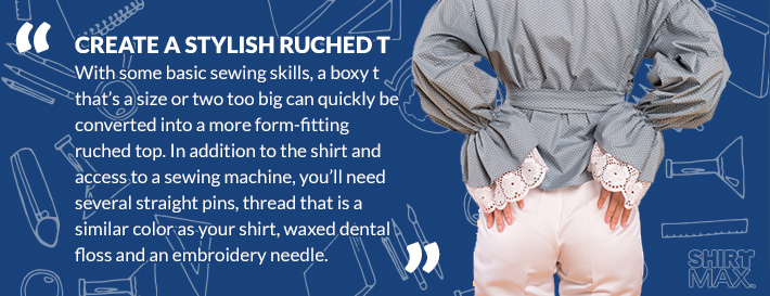 Create a Stylish Ruched T