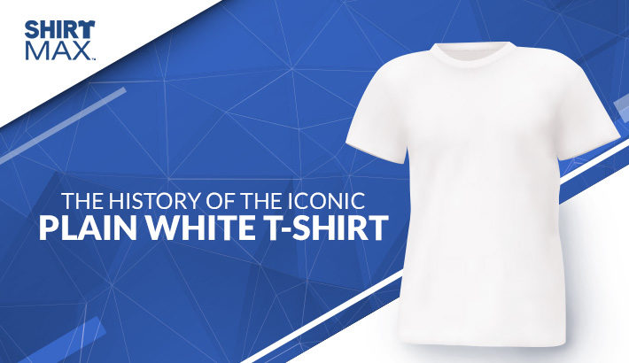 The History of the Iconic Plain White T-Shirt