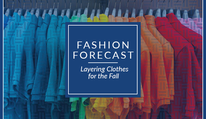 fashion forecast layering clothes fall