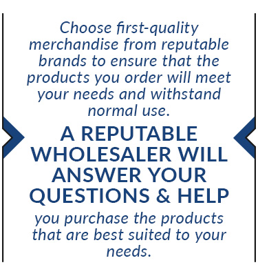 choose quality merchandise from reputable brands quote