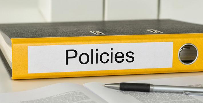 policies binder paperwork