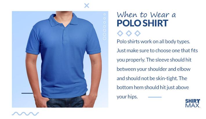 When to Wear a Polo Shirt