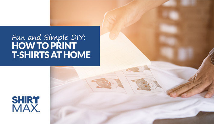 Fun and Simple DIY How to Print T-Shirts at Home