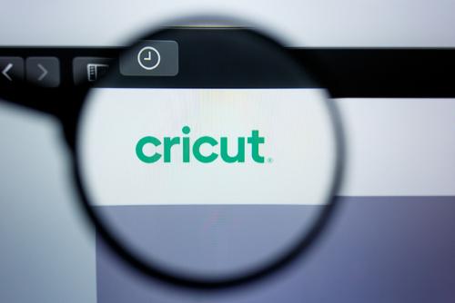 cricut logo on website